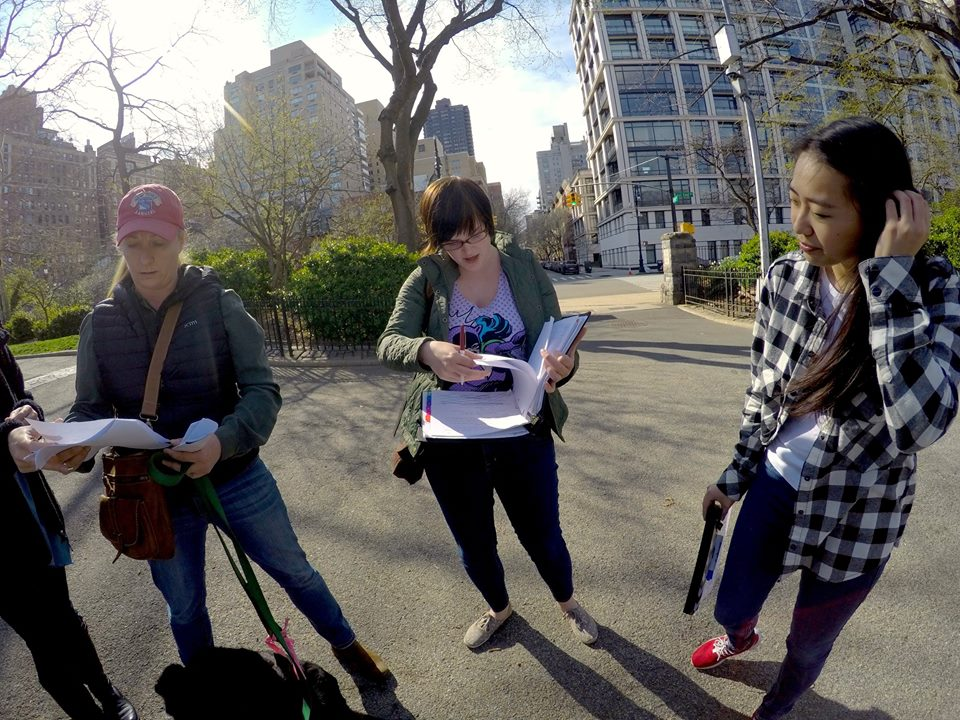 Script Supervisor for NYC feature film The Dog Walker